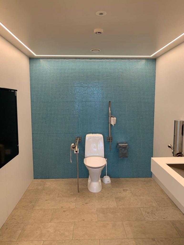 Belysning badrum toalett gotland